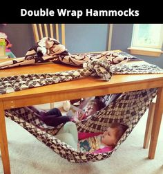 DIY hammocks