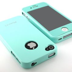 teal iphone 4s case! gahhhhh!