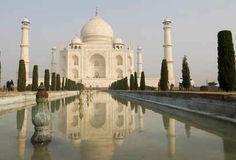The majestic Taj Mahal.
