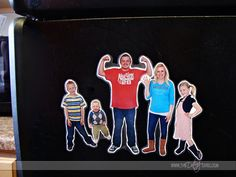 Learn how to turn your photographs into fun magnets for your fridge! This is a really simple project and your family will love it!