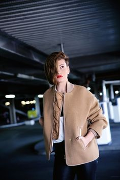 FRICHIC - Fall into Fall Week with H&M Studio AW15: The Camel Jacket