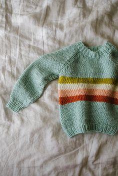 Ravelry: Happy Camper Sweater pattern by Paula Leme Baby Cardigan Knitting Pattern Free, Knitting Patterns Free, Knit Patterns, Baby Knitting, Free Pattern, Aran Weight Yarn, Sweater Design, Wool Fabric, Happy Campers