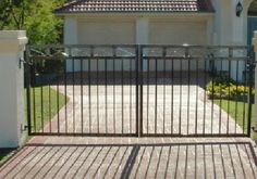 DOUBLE SWING GATES<BR>DIY from $110 per square metre