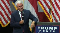 Indiana Gov. Mike Pence on Thursday fielded one of the toughest questions he's faced as Donald Trump's running mate - from 11-year-old Matthew Schricker.