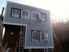 #Exterior #Painting #Makeover in progress by Albrecht Painting