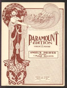 Angel's #prayer bevan 1921 #violin solo with piano vintage sheet #music,  View more on the LINK: 	http://www.zeppy.io/product/gb/2/361856374131/