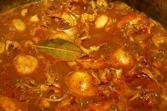 Recette de la rouille de seiche Chili, Soup, Beef, Seafood, Cooking Recipes, Meat, Chile, Soups, Chilis