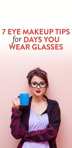 7 Eye Makeup Tips For Glasses Wearers - From Bustle | Glamour Shots Photography
