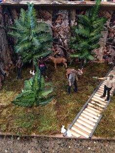 Walking dead diorama