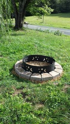 Amazon.com : CobraCo Evening Sky Campfire Ring FRSTAR369 : Fire Pits : Patio, Lawn & Garden
