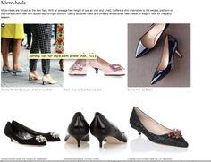 WGSN AW15 Footwear Trend – PUMPS
