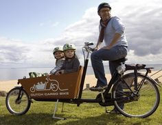 Dutch Cargo Bike – get out, get fit… with the kids