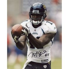"Mike Sims-Walker Jacksonville Jaguars Fanatics Authentic Autographed 8"" x 10"" Ball In Fingertips Photograph"