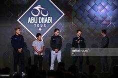 #RideToAbuDhabi 3rd Abu Dhabi Tour 2017 / Teams Presentation Tanel KANGERT (EST)/ Romain BARDET (FRA)/ Caleb EWAN (AUS)/ Marcel KITTEL (GER)/ Yas Viceroy - Palm Garden / Teams Presentation /