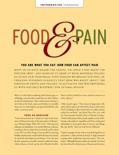 Food and Pain Relief | The Dr. Oz Show