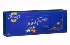 Buy Karl Fazer Milk Chocolate Pralines Chocolate Pieces in Box Made in Finland From Made in scandinavian Praline Chocolate, Soy Lecithin, Scandinavian Food, Types Of Food, Candy Recipes, Cocoa Butter, Finland, Vanilla, Milk