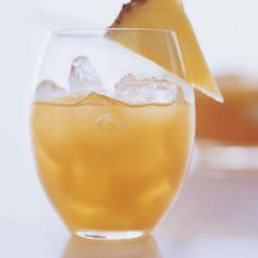 Rum Punch | This recipe is easy to multiply for crowds. To ensure that a large batch stays chilled without becoming watery, serve it in a punch bowl set in a larger bowl of crushed ice.