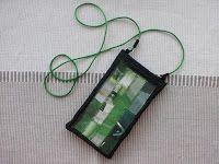 Kännykkäpussukka // Purse for mobile phone