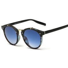 f297ff4404 Sunglasses Men Vintage Retro Round Sun Glasses male Brand Designer  Sunglasses Unisex New Lentes De Sol Masculino-in Sunglasses from Women s  Clothing ...
