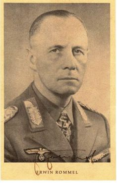 Erwin Rommel signed photograph   eBay
