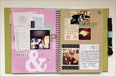 Smash Book | Project Life Smash Book - Two Peas in a Bucket