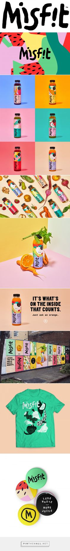 Brand New: New Logo, Identity, and Packaging for Misfit by Gander... - a grouped images picture - Pin Them All