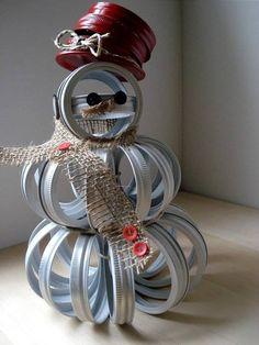 Ring Snowman