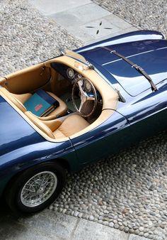 """continuarte: """"  Ferrari 166 MM Barchetta Touring """""""