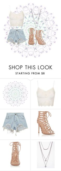 """Untitled #734"" by sara-button ❤ liked on Polyvore featuring WALL, Topshop, Chicnova Fashion, Gianvito Rossi and Boohoo"