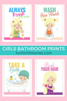 Girls Set of 4 Perso