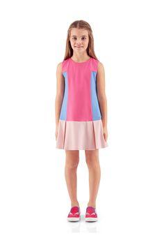 #Fendi SS16 Junior Girls Dress.