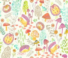 Pepper fabric by c_manning on Spoonflower - custom fabric