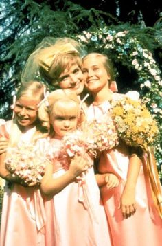 The Brady Bunch Girls..before they ruin the wedding.