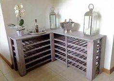 pallet corner table idea