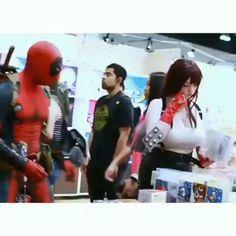 Deadpool being Deadpool – Gif
