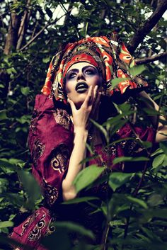 Photo/make-up/costume: Paweł Adamiec