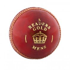 Readers Club Match Mens Dark Red Cricket Ball Size 5.5oz