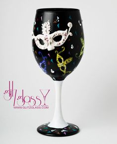 Masquerade Party by Glitzpops on Etsy, $24.99