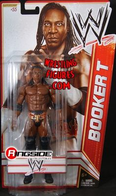 BOOKER T – WWE SERIES 22 TOY WRESTLING ACTION « Game Searches