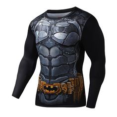2c83ae349d3 BATMAN Compression Shirt for Men (Long Sleeve)
