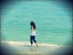 <3 sea .. blue ... sand <3