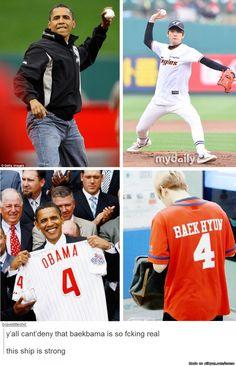 OMFG REALLY FANDOM! Seriously this fandom has NO chill WHATSOEVER! #BaekBama #ObamaCares #ReallyFandom
