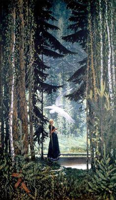Swans, 1967 ~ by Konstantin Vasiliev,