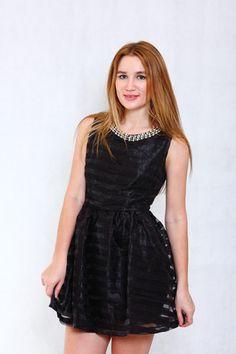 Pink-tag love affair dress in black #love #affair #black #dress #buy #america #europe #western #online