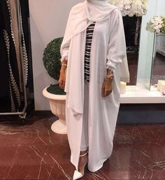 Abaya they are comfortable to wear during summer