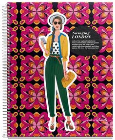 Cant live without Miquel Rius Notebooks for taking notes when we have meetings about the meetings.  Jordi LaBanda is my favorite artist.   Jordi Labanda Street Style Notebook - London