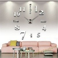 Type Wall Clock Feature Quartz Movement Time Display Analog Style Modern/Contemporary Indoor/Out