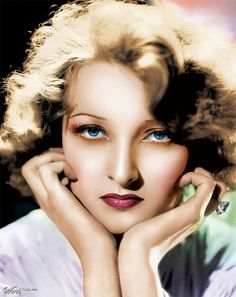 """Andre Gwili: Once publicized as """"America's Most Beautiful Model,"""" Danish-born Gwili Andre (born Gurli Andresen) enjoyed a brief career in films courtesy of producer David O. Selznick, who cast her opposite Richard Dix in Roar of the Dragon (1932). Playing a femme fatale of indeterminable nationality, Andre was obviously Selznick's idea of another Marlene Dietrich, whom she greatly resembled, but the reviewers were merciless in their scorn of both actress and film..."""
