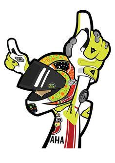 Motorcycle Art, Bike Art, Valentino Rossi Logo, Brand Stickers, Motorbike Design, Motosport, Car Logos, Super Bikes, Go Kart