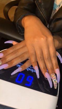 92 perfect fall nail polish colors in 2018 page 48 Claw Nails, Aycrlic Nails, Hot Nails, Bling Nails, Coffin Nails, Best Acrylic Nails, Acrylic Nail Designs, Fire Nails, Nail Polish Colors